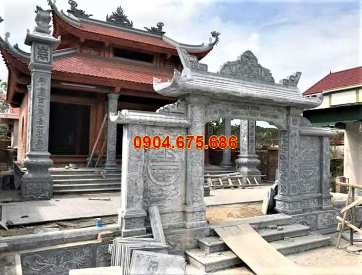 Mẫu cổng đá Ninh Vân đẹp