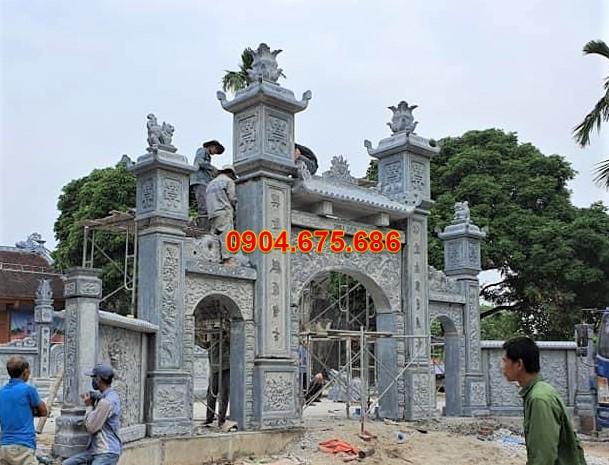 Cổng đá tự nhiên Ninh Bình