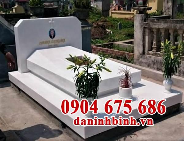 Mẫu mộ mả đá đẹp đơn giản