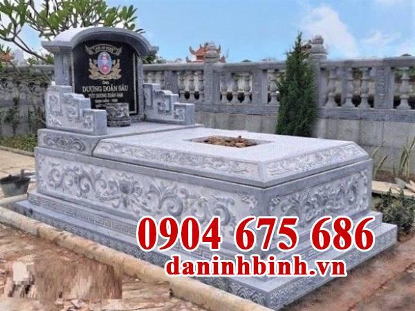 Mẫu mộ đẹp đơn giản hợp phong thủy