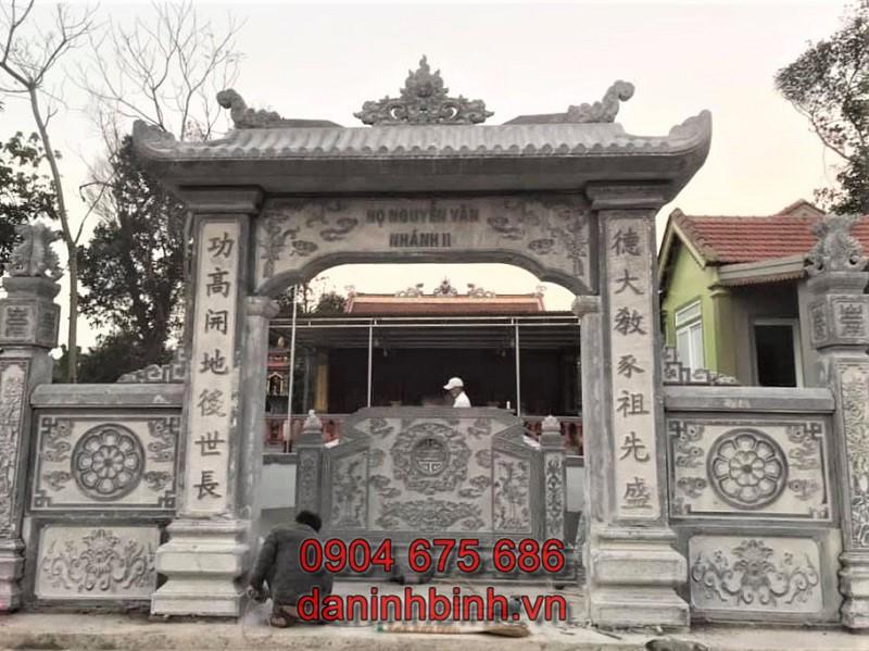Cổng nhà từ đường