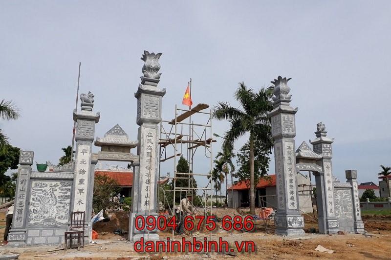 Cổng nhà thờ họ tộc từ đường