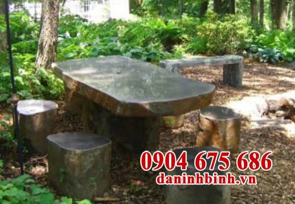 Bàn ghế đá sân vườn biệt thự đẹp