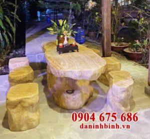 Kinh nghiệm chọn mua bàn ghế đá tự nhiên