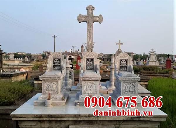 Mẫu lăng mộ công giáo đẹp