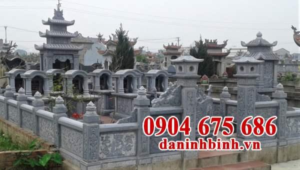 Mẫu nghĩa trang gia đình đẹp
