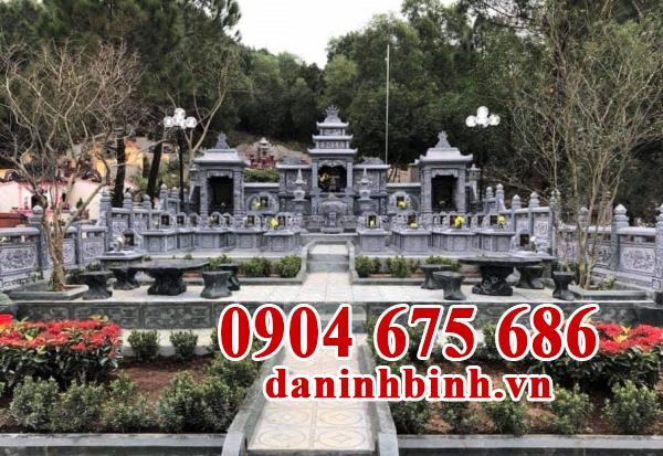 Nguyên tắc bố trí mộ trong nghĩa trang gia đình