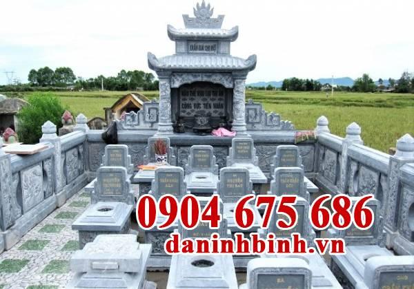 Mẫu thiết kế nghĩa trang gia đình đẹp