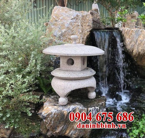 Mẫu đèn đá sân vườn kiểu Nhật