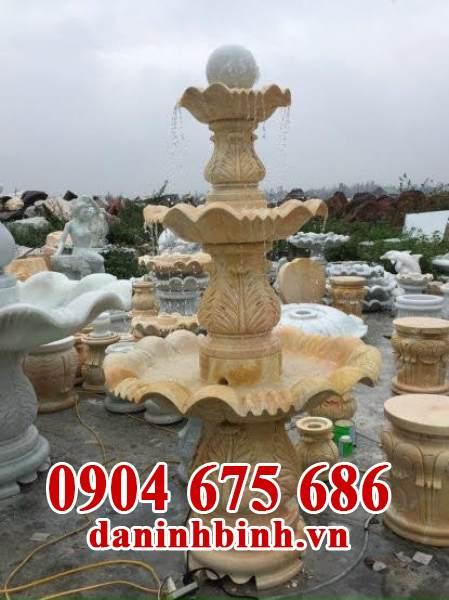 Mẫu tháp phun nước sân vườn biệt thự