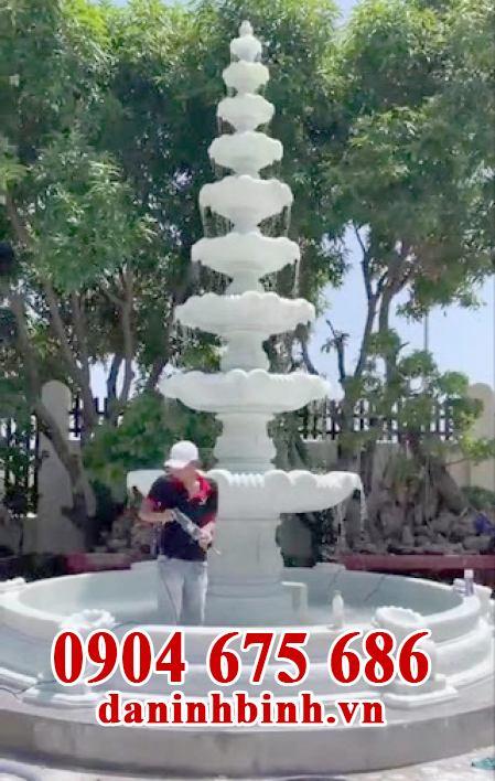 Mẫu đài phun nước sân vườn biệt thự đẹp
