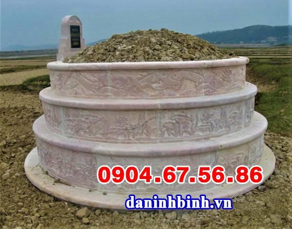 Mẫu mộ tròn xây cho trẻ sơ sinh đơn giản